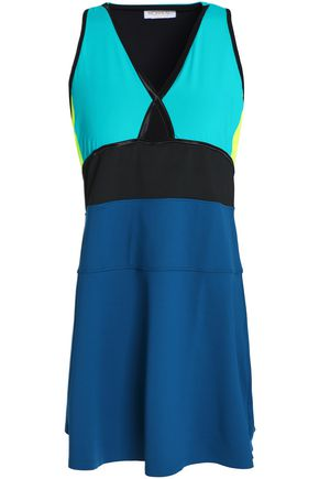 MONREAL LONDON Color-block stretch tennis dress