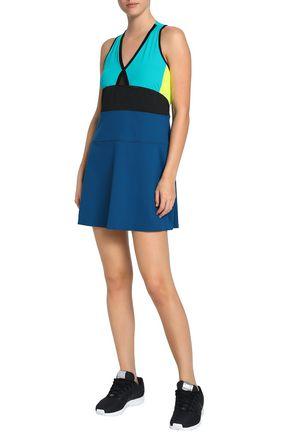 MONREAL LONDON Color-block stretch tennis dress
