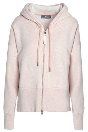 ADIDAS by STELLA McCARTNEY French cotton-blend terry jacket