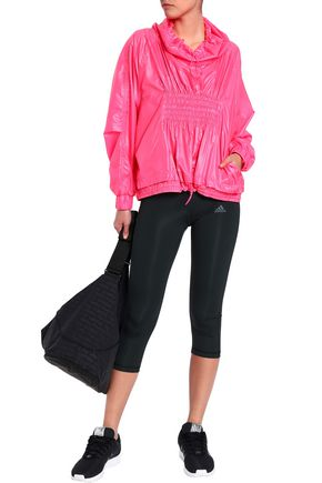d4d1b92ce7 Shirred shell jacket | ADIDAS by STELLA McCARTNEY | Sale up to 70 ...