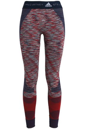 ADIDAS by STELLA McCARTNEY Printed stretch leggings