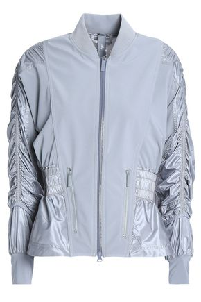 ADIDAS by STELLA McCARTNEY Ruched paneled shell jacket