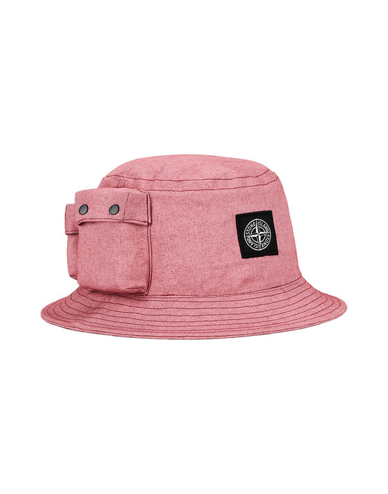 STONE ISLAND Cap 99466 CANVAS PLACCATO