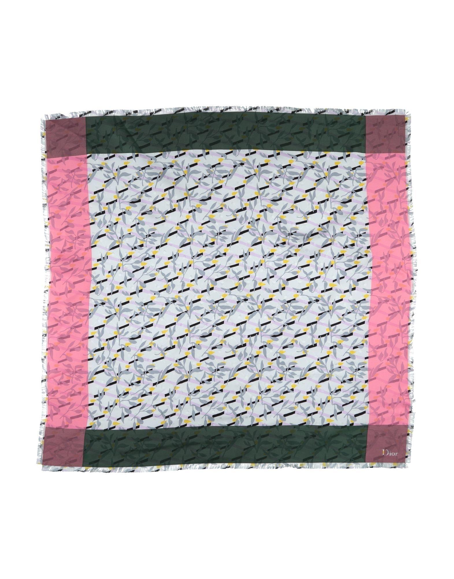 DIOR Платок ostin платок в мелкий принт лисички page 4