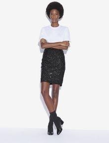 ARMANI EXCHANGE SEQUIN-STUDDED PENCIL SKIRT Midi Skirt [*** pickupInStoreShipping_info ***] d