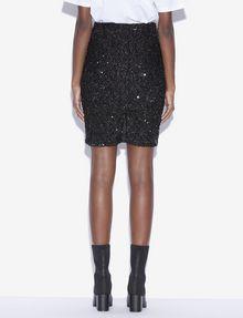 ARMANI EXCHANGE SEQUIN-STUDDED PENCIL SKIRT Midi Skirt [*** pickupInStoreShipping_info ***] e