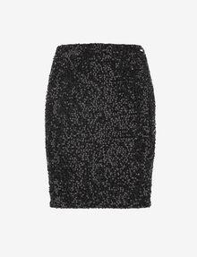 ARMANI EXCHANGE SEQUIN-STUDDED PENCIL SKIRT Midi Skirt [*** pickupInStoreShipping_info ***] r