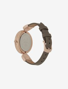 ARMANI EXCHANGE MINIMALIST QUILTED-FACE ROSE GOLD-TONED WATCH Fashion Watch [*** pickupInStoreShipping_info ***] d