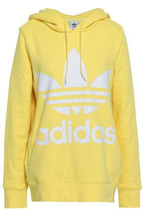 ADIDAS ORIGINALS French cotton-terry sweatshirt