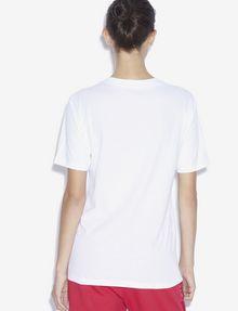 ARMANI EXCHANGE LOVE SATURDAY RUNDHALSSHIRT MIT STRASS T-Shirt mit Grafik [*** pickupInStoreShipping_info ***] e