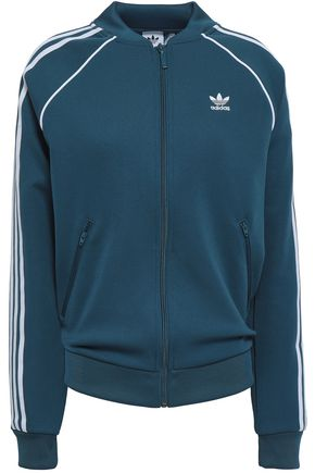 ADIDAS ORIGINALS Stretch-jersey sweatshirt