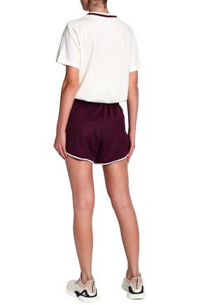 ADIDAS ORIGINALS Cotton-blend jersey shorts