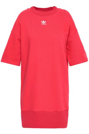 ADIDAS ORIGINALS Cotton-blend jersey mini dress