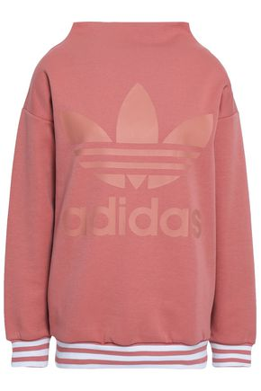 ADIDAS ORIGINALS French cotton-blend terry sweatshirt