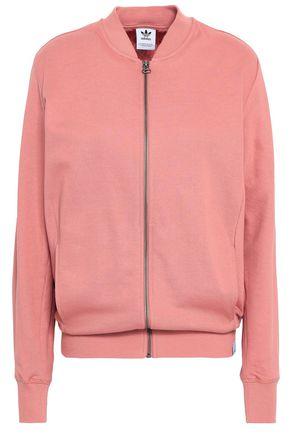 ADIDAS ORIGINALS French cotton-terry sweatshirt