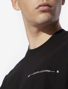 ARMANI EXCHANGE STAR STUD CREWNECK TEE Logo T-shirt [*** pickupInStoreShippingNotGuaranteed_info ***] b