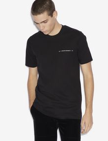 ARMANI EXCHANGE STAR STUD CREWNECK TEE Logo T-shirt [*** pickupInStoreShippingNotGuaranteed_info ***] f