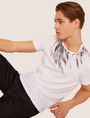 ARMANI EXCHANGE SLIM-FIT EAGLE FEATHER CREW Graphic T-shirt [*** pickupInStoreShippingNotGuaranteed_info ***] a