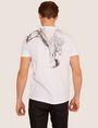 ARMANI EXCHANGE SLIM-FIT EAGLE FEATHER CREW Graphic T-shirt [*** pickupInStoreShippingNotGuaranteed_info ***] e