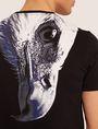 ARMANI EXCHANGE SLIM-FIT EAGLE FEATHER CREW Graphic T-shirt [*** pickupInStoreShippingNotGuaranteed_info ***] b