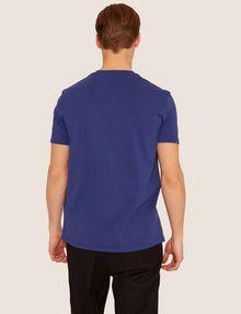 ARMANI EXCHANGE REGULAR-FIT MULTI STRIPE LOGO CREW Logo T-shirt [*** pickupInStoreShippingNotGuaranteed_info ***] e