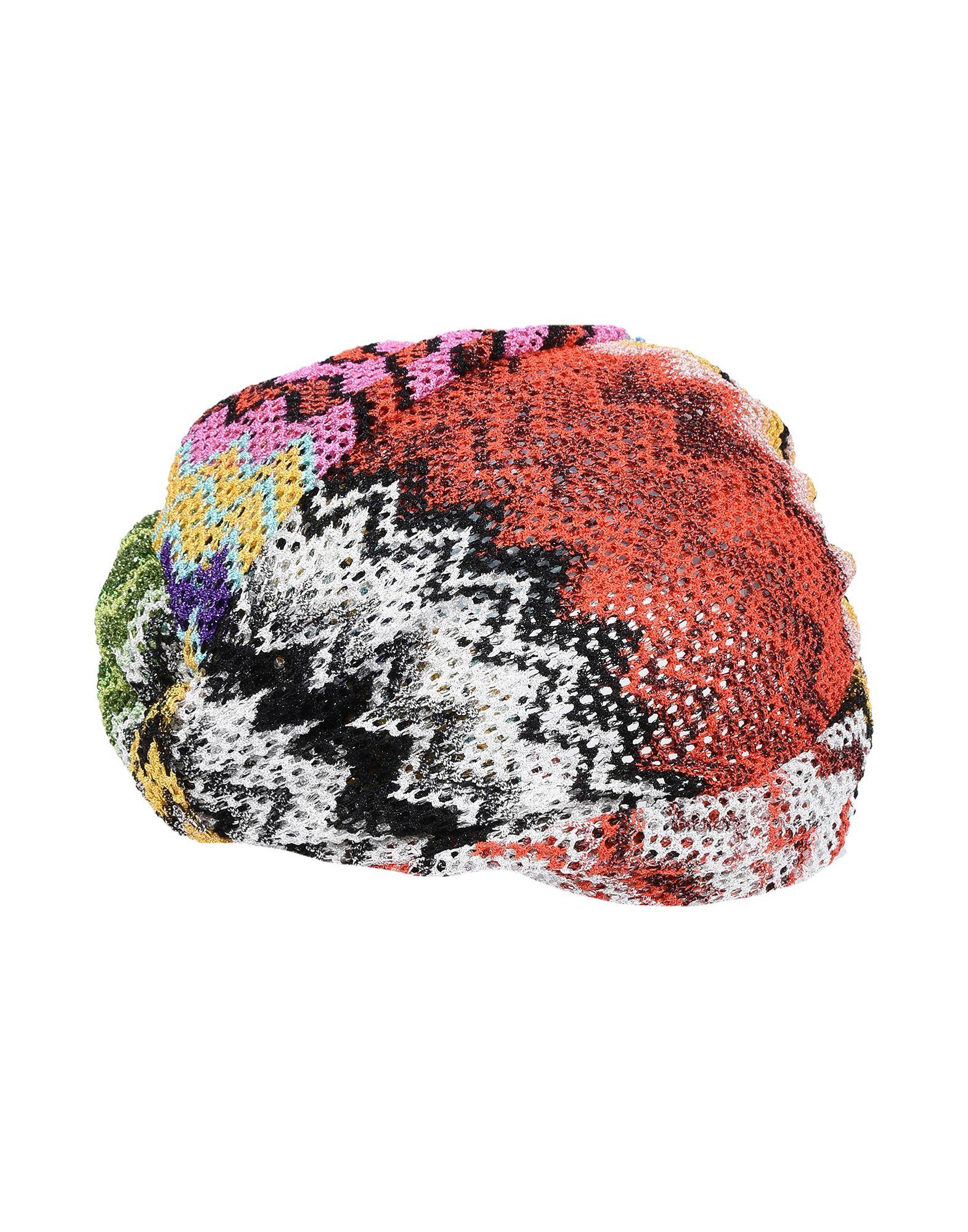 《送料無料》MISSONI MARE レディース 帽子 シルバー one size レーヨン 100%