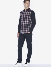 ARMANI EXCHANGE SLIM FIT HEMD MIT PLAID-MOTIV Karohemd [*** pickupInStoreShippingNotGuaranteed_info ***] d