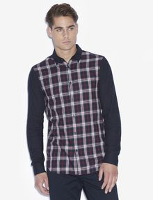 ARMANI EXCHANGE SLIM FIT HEMD MIT PLAID-MOTIV Karohemd [*** pickupInStoreShippingNotGuaranteed_info ***] f