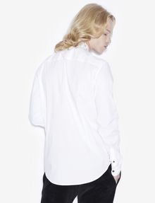 ARMANI EXCHANGE SLIM-FIT STUDDED COLLAR SHIRT Long sleeve shirt [*** pickupInStoreShippingNotGuaranteed_info ***] e
