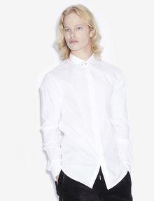 ARMANI EXCHANGE SLIM-FIT STUDDED COLLAR SHIRT Long sleeve shirt [*** pickupInStoreShippingNotGuaranteed_info ***] f