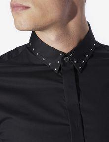ARMANI EXCHANGE SLIM-FIT STUDDED COLLAR SHIRT Long sleeve shirt [*** pickupInStoreShippingNotGuaranteed_info ***] b