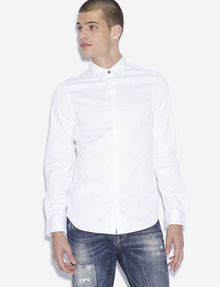 ARMANI EXCHANGE SLIM-FIT GEO LINES BUTTON-DOWN SHIRT Printed Shirt [*** pickupInStoreShippingNotGuaranteed_info ***] f