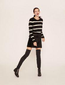 ARMANI EXCHANGE FUZZY MINI SKIRT Mini skirt [*** pickupInStoreShipping_info ***] a