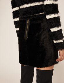 ARMANI EXCHANGE FUZZY MINI SKIRT Mini skirt [*** pickupInStoreShipping_info ***] b
