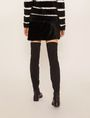 ARMANI EXCHANGE FUZZY MINI SKIRT Mini skirt [*** pickupInStoreShipping_info ***] e