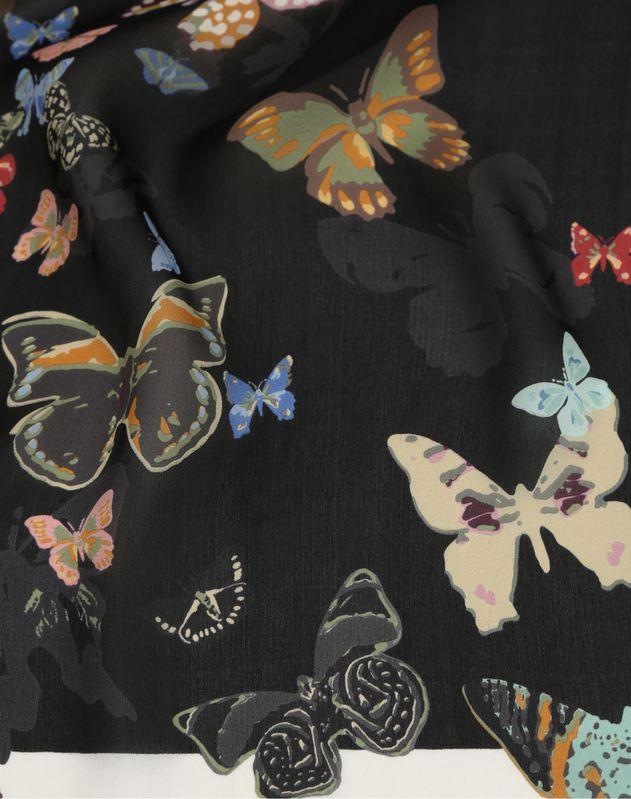 Butterfly print stole