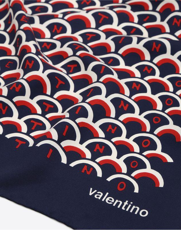 Платок с принтом-логотипом Valentino Scale