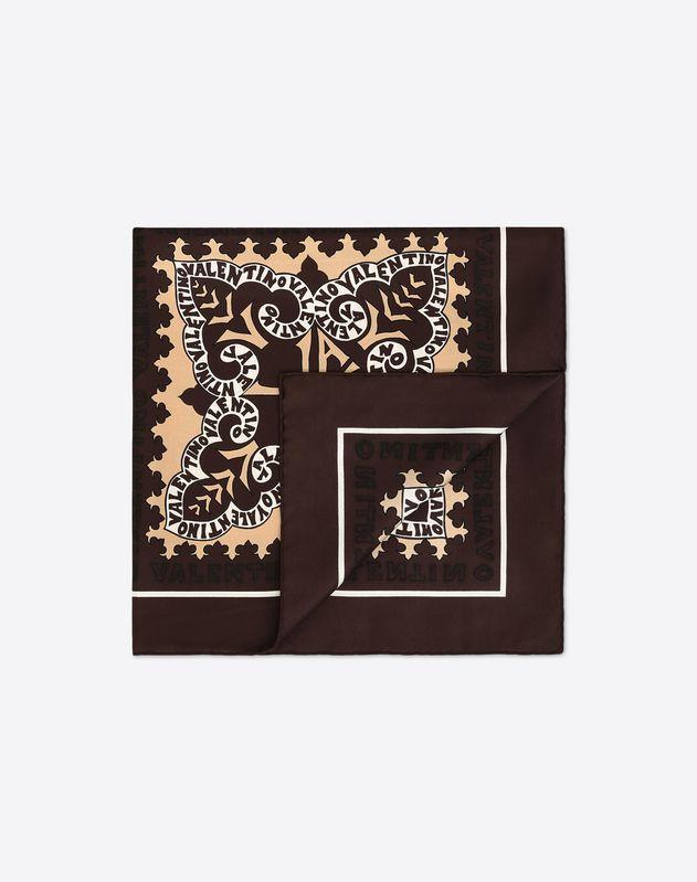Foulard avec imprimé logo Mini Bandana