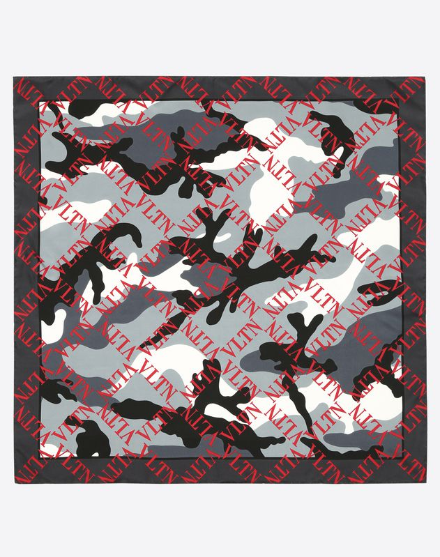 VLTN Grid Camouflage Foulard