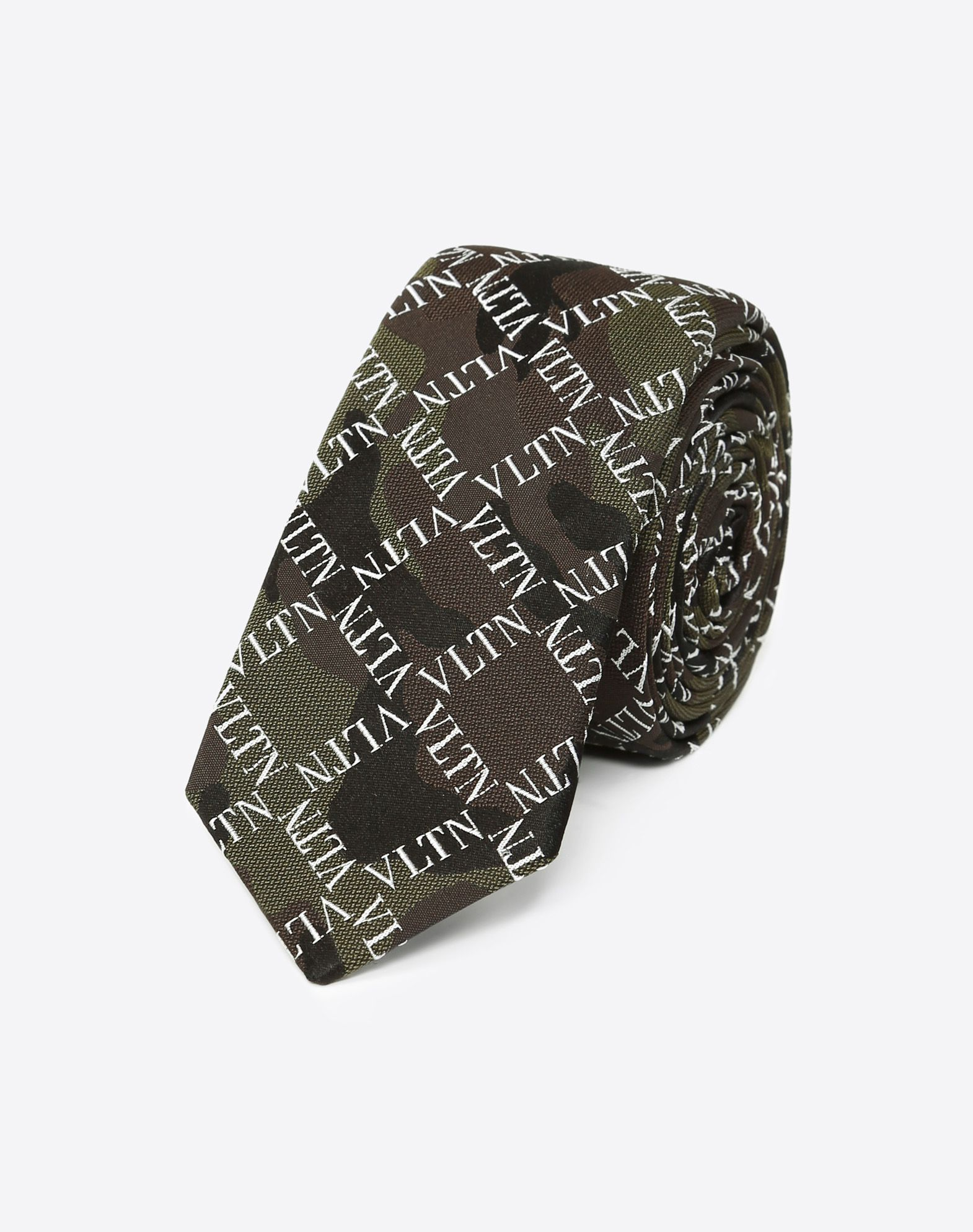 VLTN CAMOUFLAGE Tie