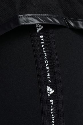 ADIDAS by STELLA McCARTNEY Layered shell and stretch-jersey leggings