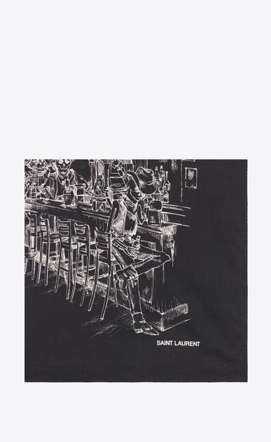 Écharpes, pochettes et bandanas Homme   Saint Laurent   YSL   2e958543f5b