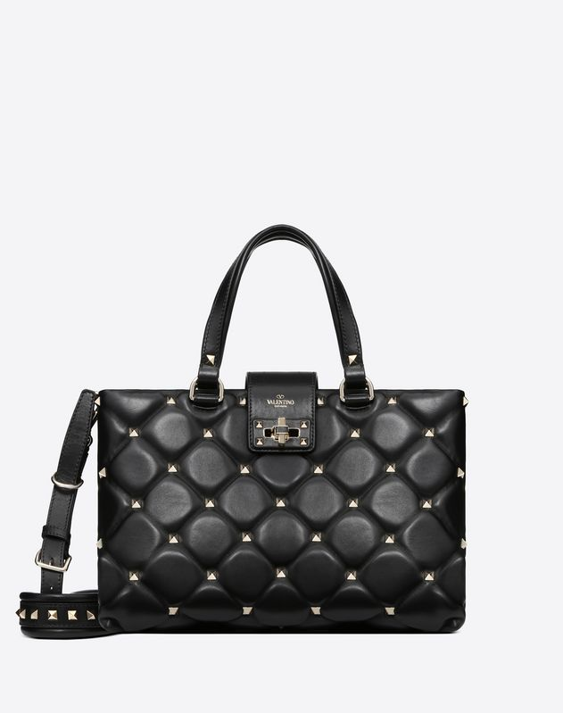 Large Candystud top-handle bag