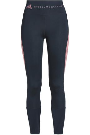 ADIDAS by STELLA McCARTNEY Paneled stretch leggings