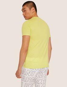 ARMANI EXCHANGE SLIM-FIT GRAFFITI OVERLAY CREW Logo T-shirt [*** pickupInStoreShippingNotGuaranteed_info ***] e