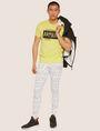ARMANI EXCHANGE SLIM-FIT GRAFFITI OVERLAY CREW Logo T-shirt [*** pickupInStoreShippingNotGuaranteed_info ***] d