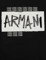 ARMANI EXCHANGE BOYS SLIM-FIT GRAFFITI OVERPRINT LOGO CREW Logo T-shirt [*** pickupInStoreShippingNotGuaranteed_info ***] e