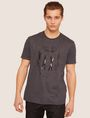 ARMANI EXCHANGE REGULAR-FIT COMIC BOOK FACE CREW Graphic T-shirt [*** pickupInStoreShippingNotGuaranteed_info ***] f