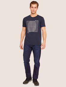 ARMANI EXCHANGE SLIM-FIT CIRCLE GRAF CREW Graphic T-shirt [*** pickupInStoreShippingNotGuaranteed_info ***] d