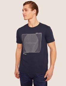 ARMANI EXCHANGE SLIM-FIT CIRCLE GRAF CREW Graphic T-shirt [*** pickupInStoreShippingNotGuaranteed_info ***] f